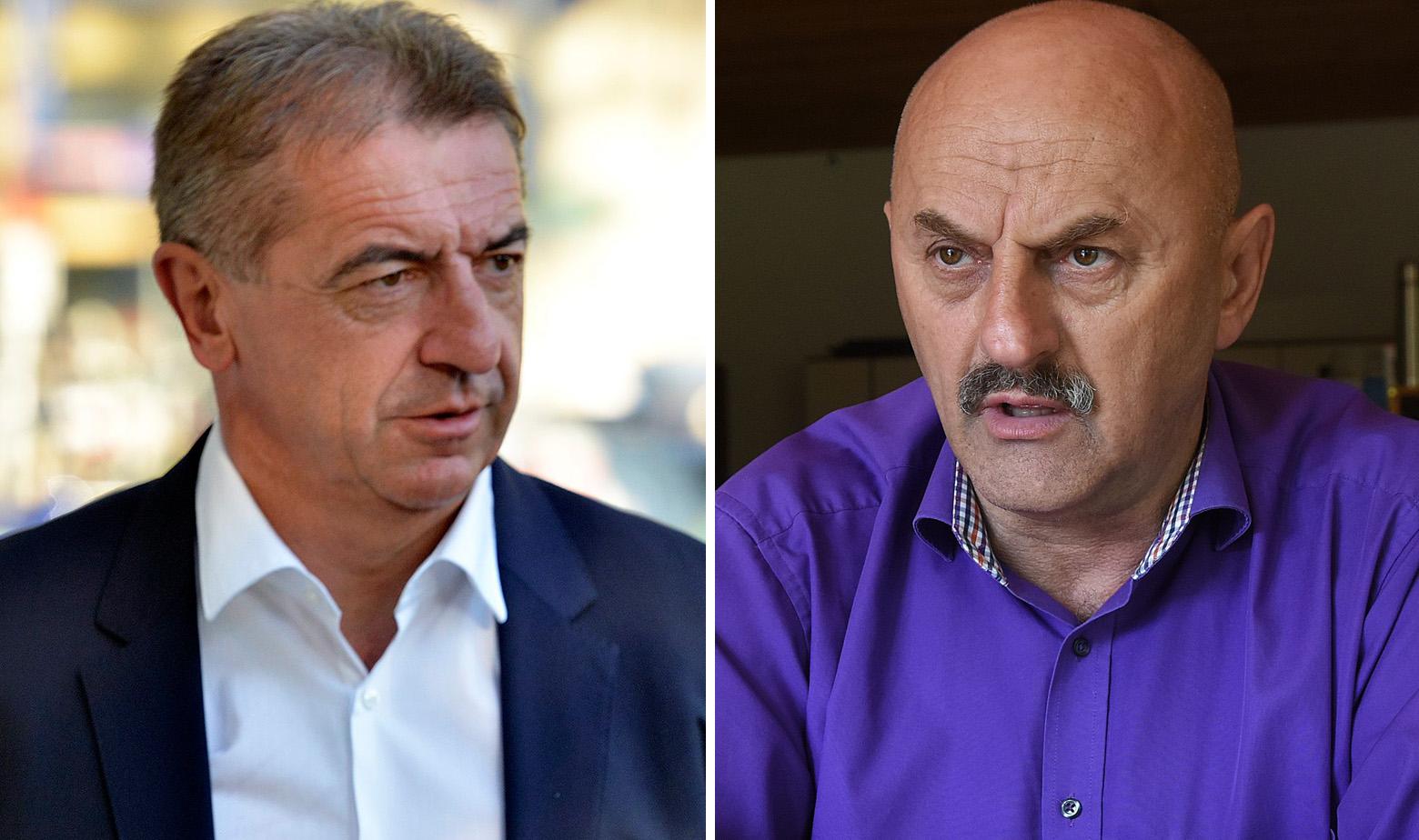 Darko Milinović i Karlo Starčević