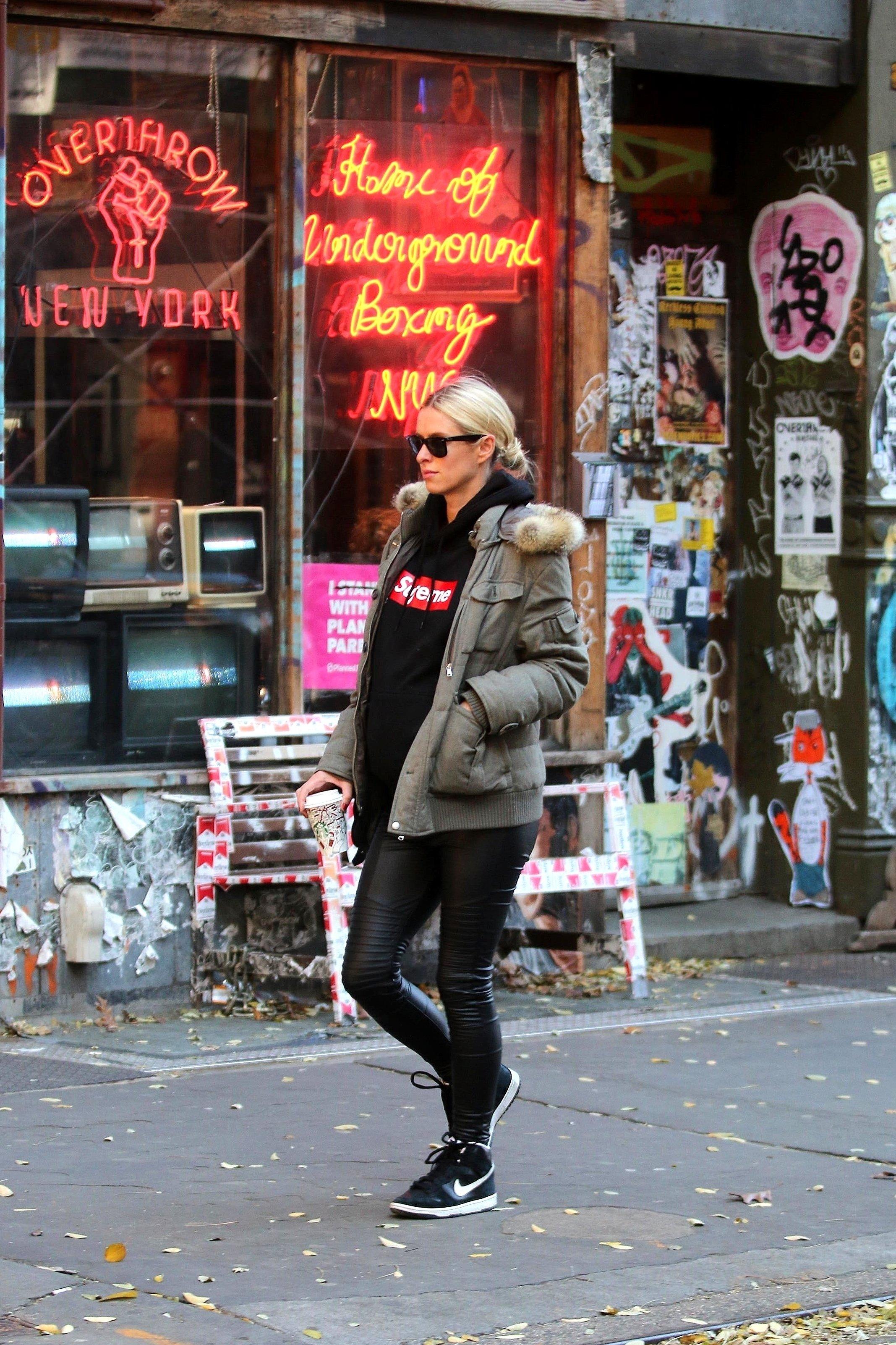Šetnja njujorškim ulicama početkom prosinca