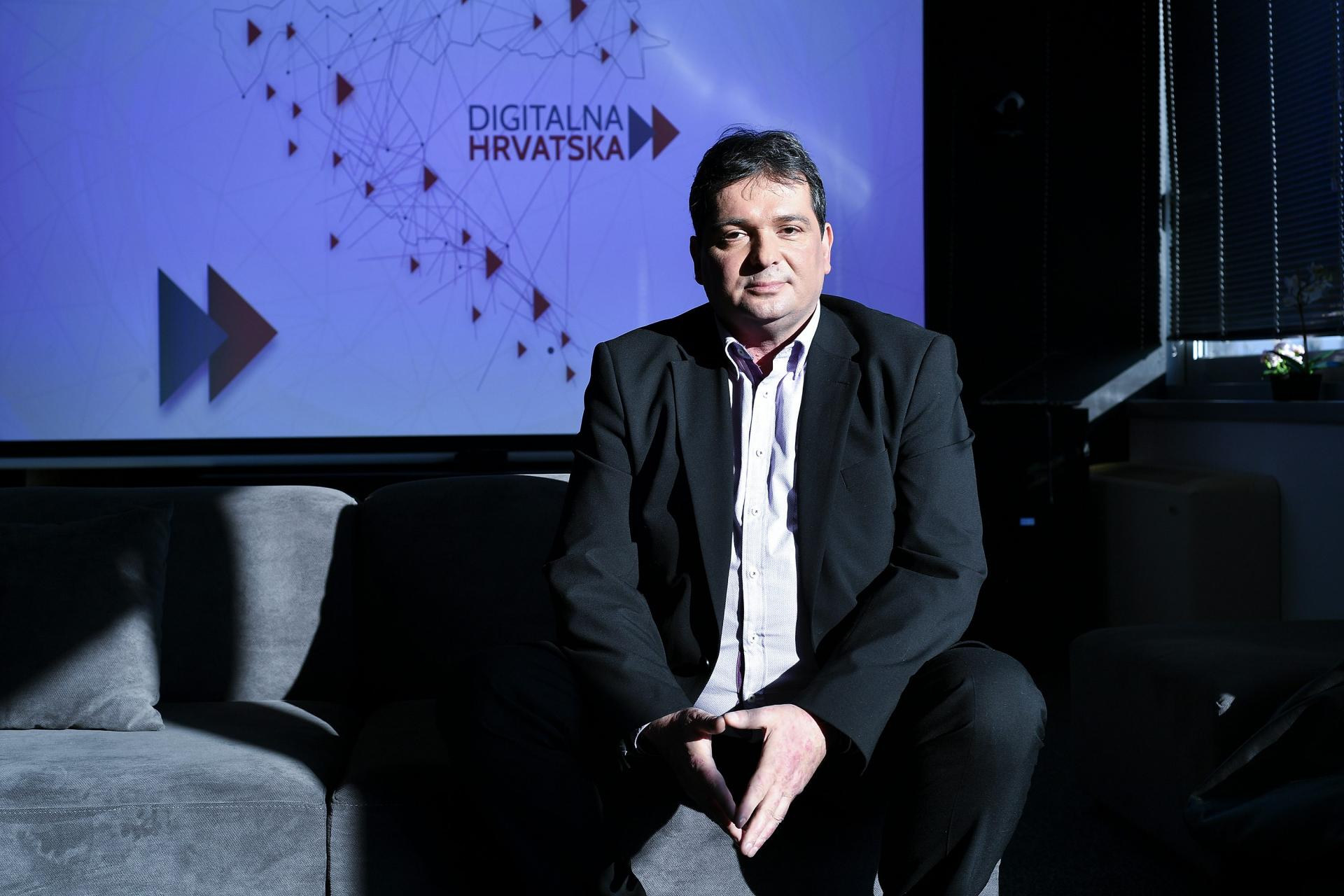 Izvršni predjsednik udruge Digitalna Hrvatska Đuro Lubura
