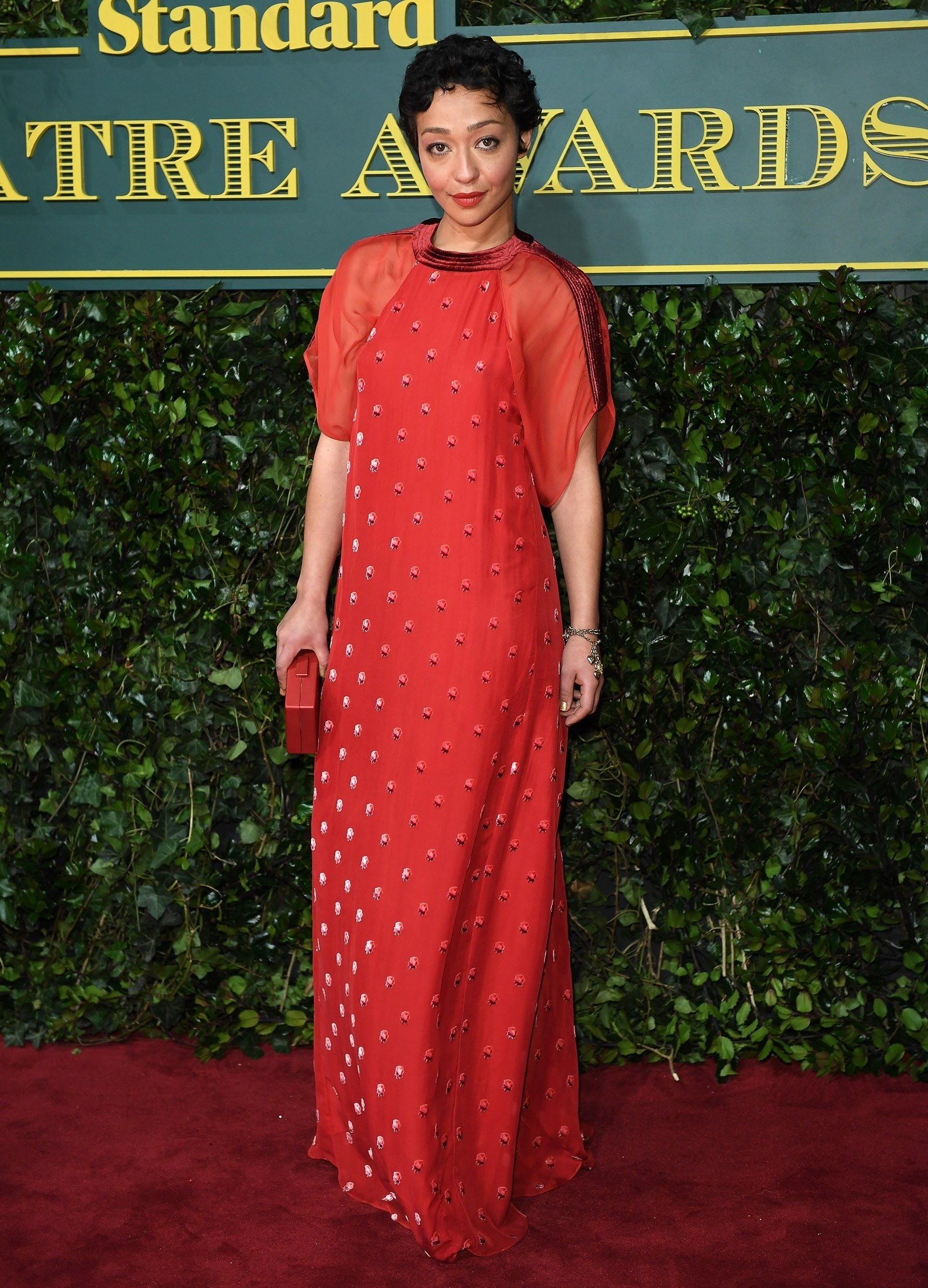 London, UNITED KINGDOM  - Celebrities attend the London Evening Standard Theatre Awards at Theatre Royal in London, England.  Pictured: Ruth Negga  BACKGRID UK 3 DECEMBER 2017, Image: 356827570, License: Rights-managed, Restrictions: , Model Release: no, Credit line: Profimedia, Xposurephotos