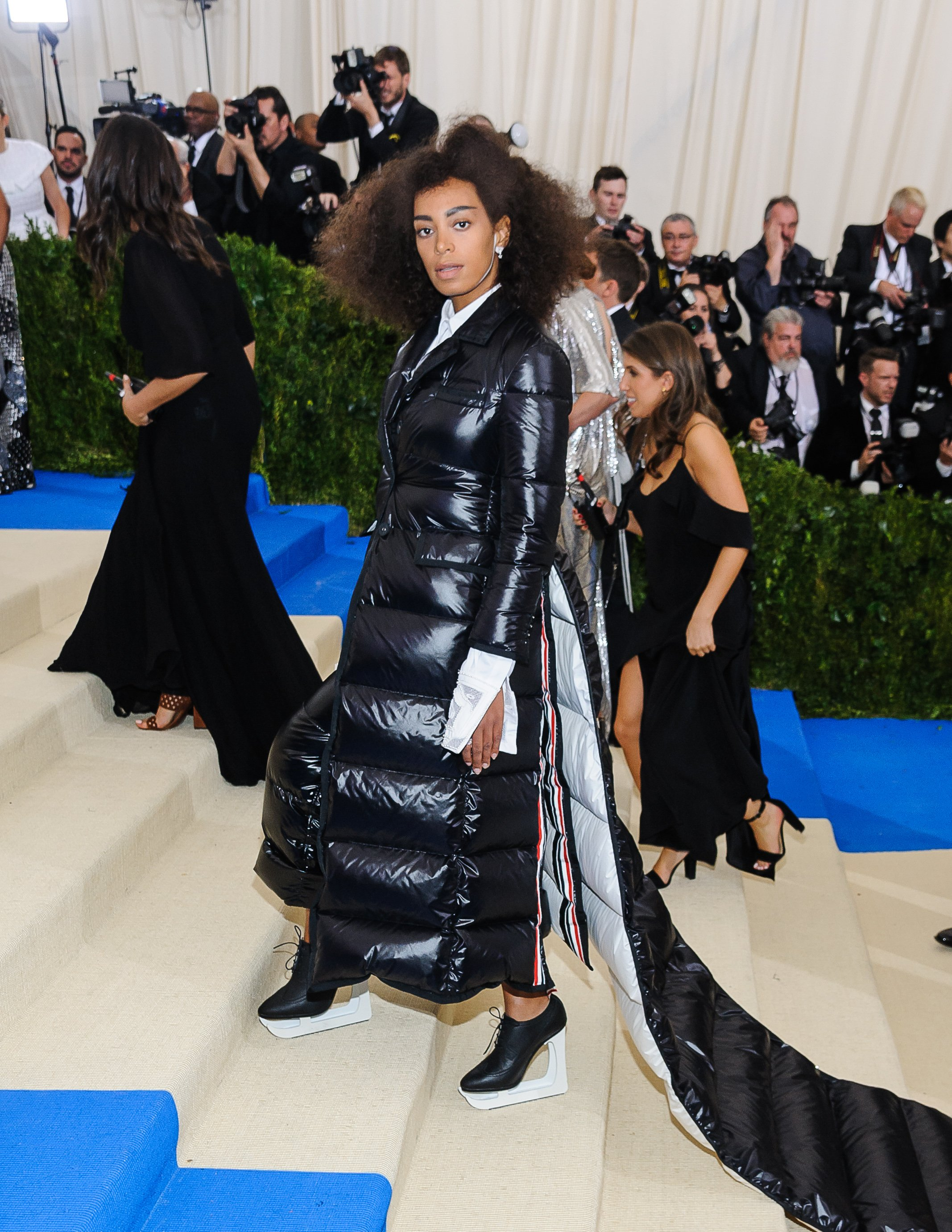 01 May 2017 - Solange Knowles. 2017 Metropolitan Museum of Art Costume Institute Benefit Gala at The Metropolitan Museum of Art., Image: 330903832, License: Rights-managed, Restrictions: , Model Release: no, Credit line: Profimedia, ADMedia