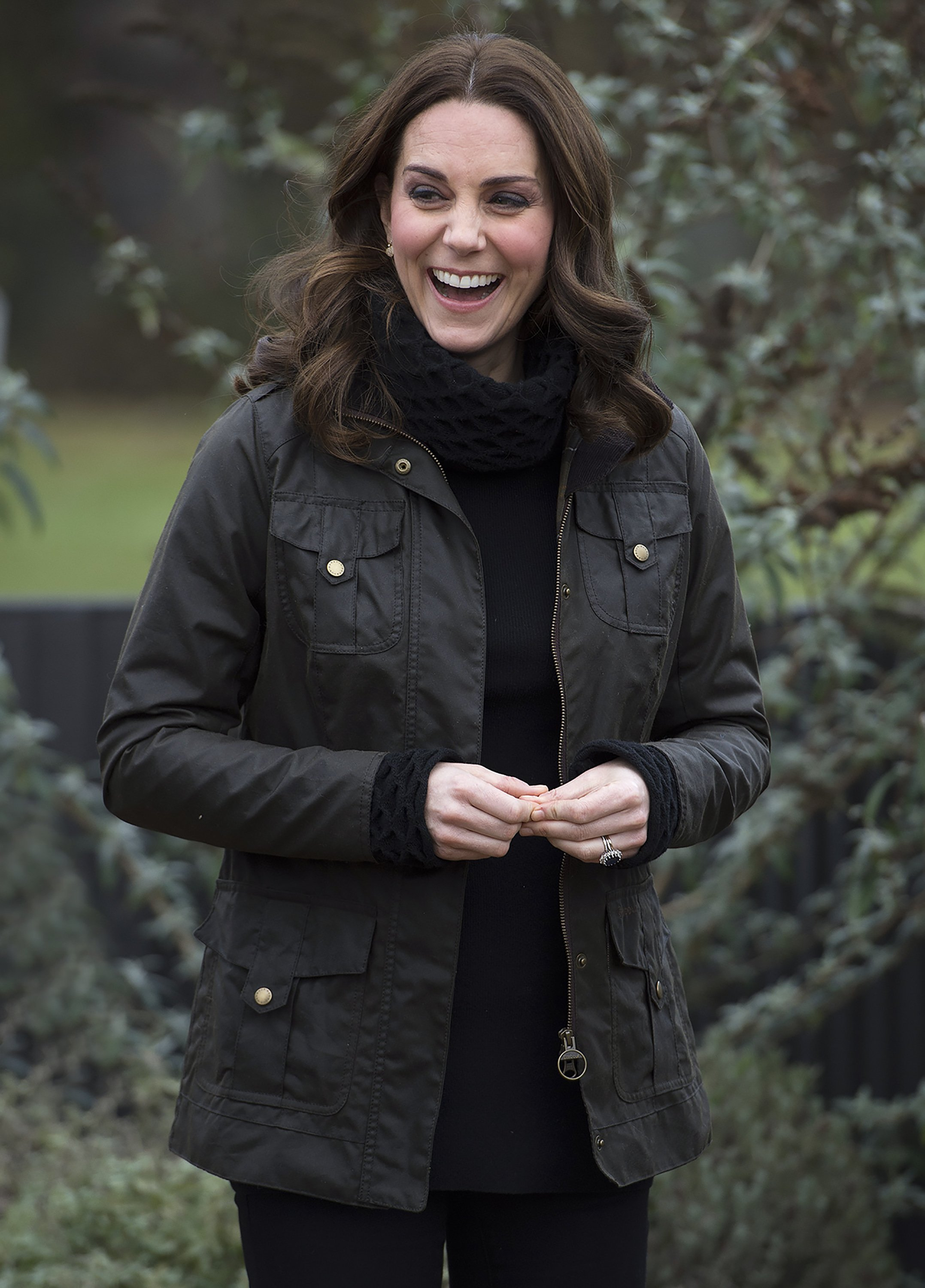 The Duchess of Cambridge visits Robin Hood Primary School to celebrate their work with the Royal Horticultural Society (RHS) Campaign for School Gardening in London, UK, on the 29th November 2017.  Picture by Eddie Mulholland/WPA-Pool. 29 Nov 2017 Pictured: Catherine, Duchess of Cambridge, Kate Middleton., Image: 356471546, License: Rights-managed, Restrictions: NO United Kingdom, Model Release: no, Credit line: Profimedia, Mega Agency