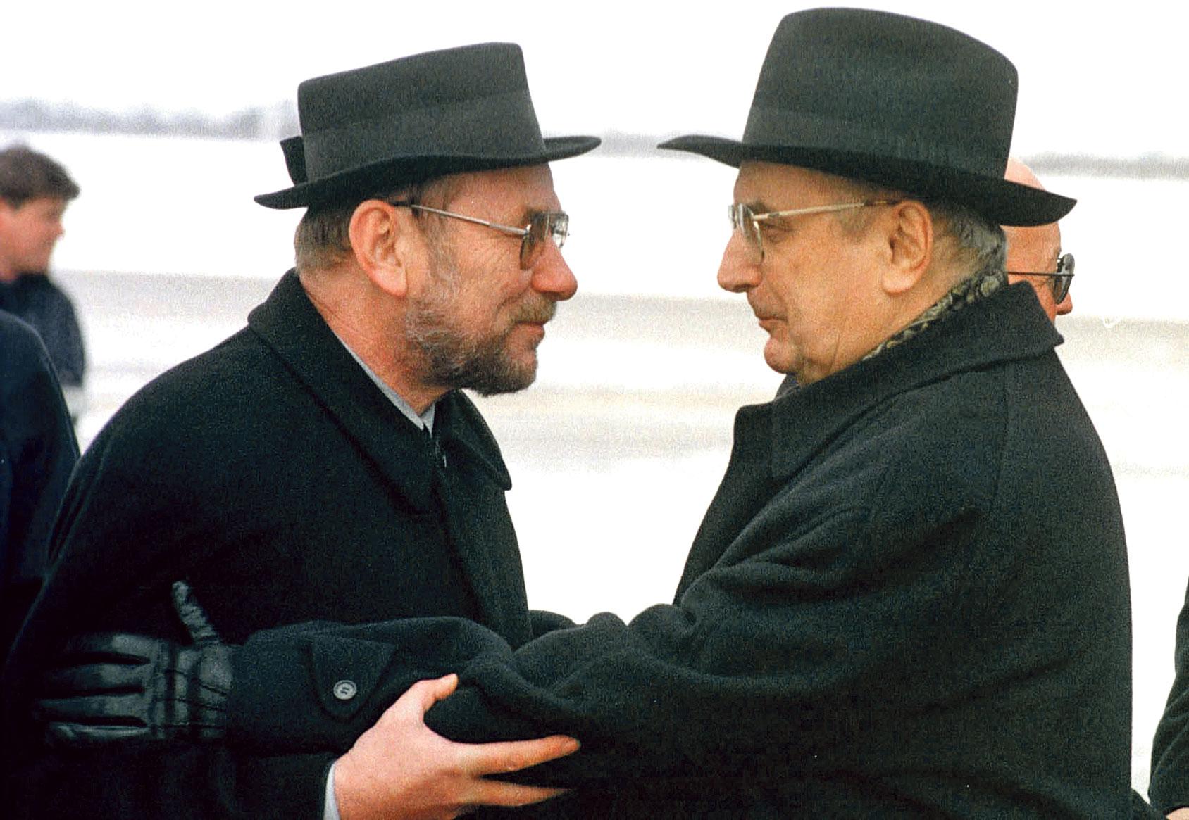 Vladimir Šeks i Franjo Tuđman