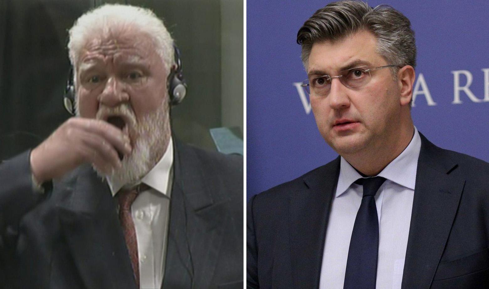 Praljak i Plenković