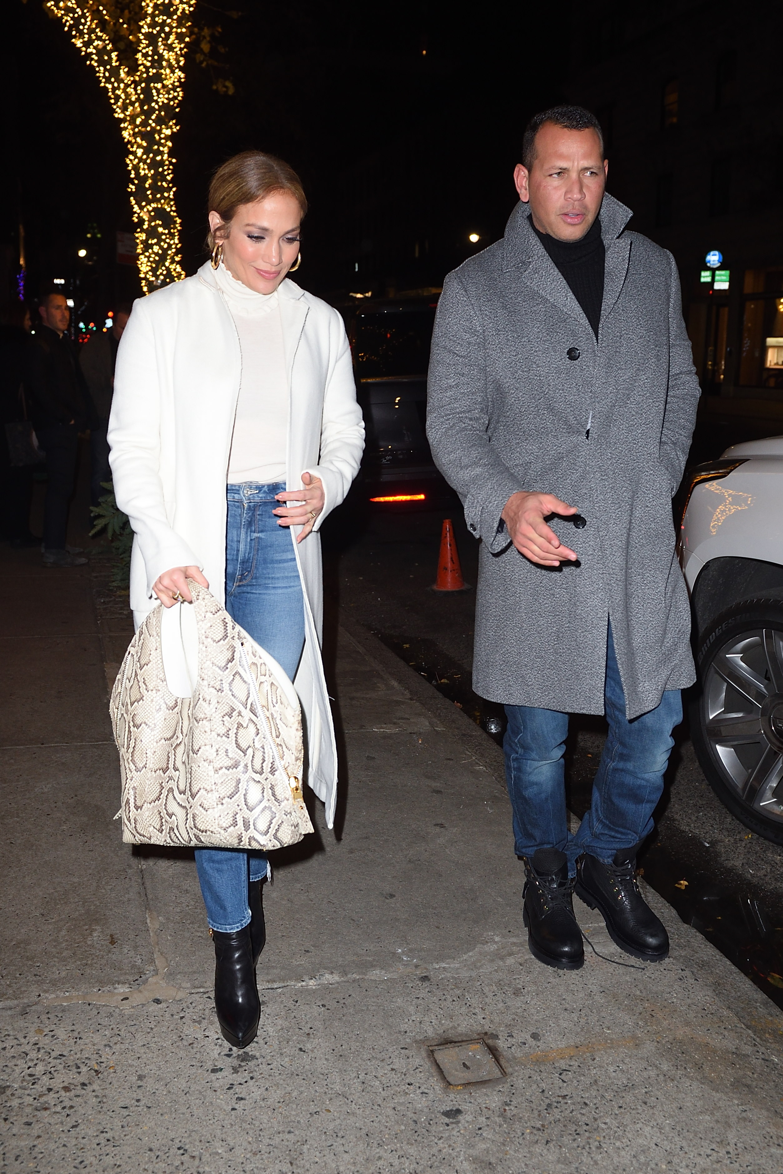 Jennifer Lopez and Alex Rodriguez out for dinner at NELLO Restaurant in NYC. <P>  <B>Ref: SPL1631373  301117  </B><BR/> Picture by: Ron Asadorian / Splash News<BR/> </P><P> <B>Splash News and Pictures</B><BR/> Los Angeles:310-821-2666<BR/> New York:212-619-2666<BR/> London:870-934-2666<BR/> <span id=