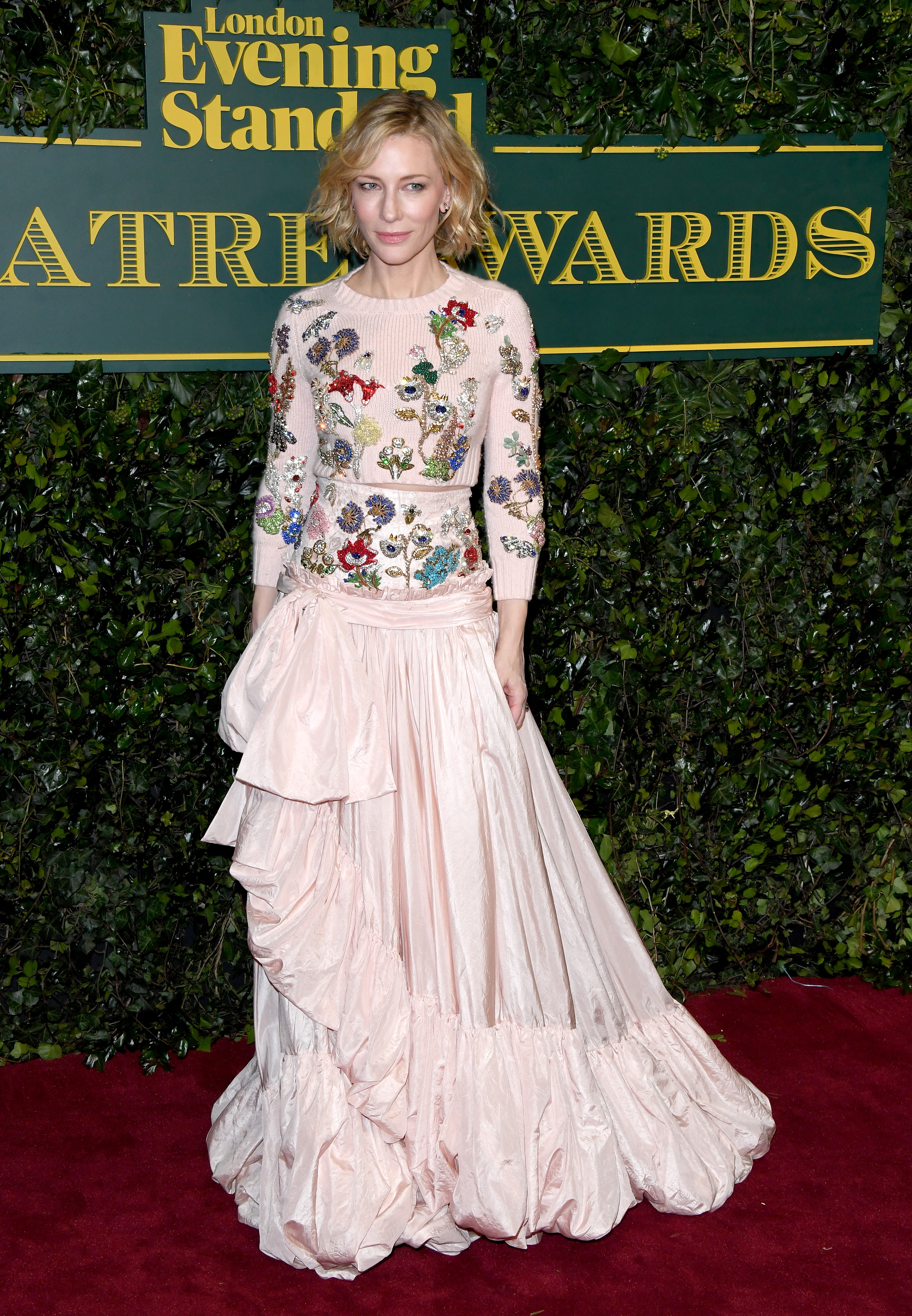 LONDON, ENGLAND - DECEMBER 03:  Cate Blanchett attends the London Evening Standard Theatre Awards at the Theatre Royal on December 3, 2017 in London, England.  (Photo by Stuart C. Wilson/Getty Images)