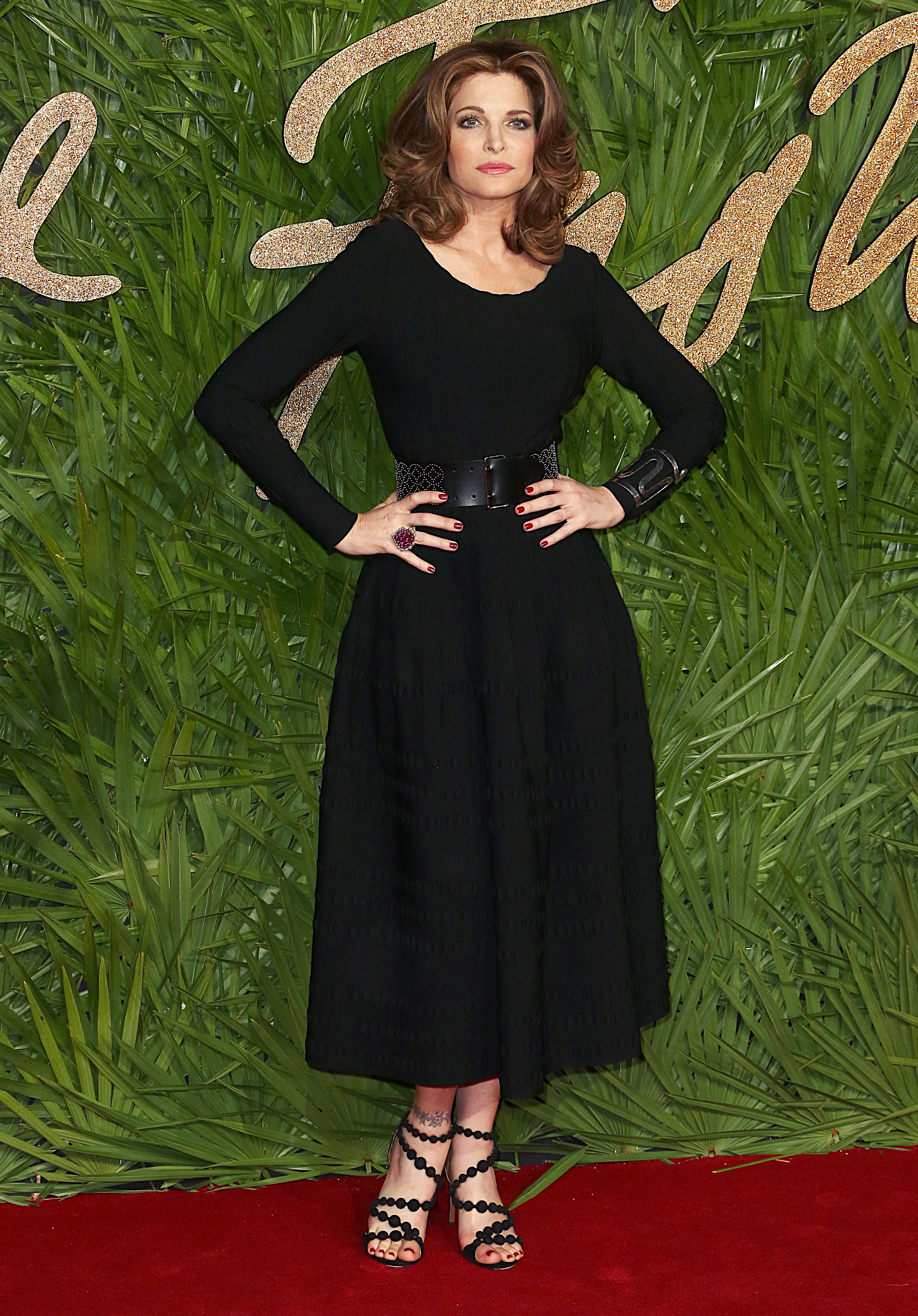 The Fashion Awards 2017, Royal Albert Hall, London UK, 04 December 2017, Photo by Brett D. Cove <P> Pictured: Stephanie Seymour <B>Ref: SPL1632930  051217  </B><BR/> Picture by: Brett D. Cove / Splash News<BR/> </P><P> <B>Splash News and Pictures</B><BR/> Los Angeles:310-821-2666<BR/> New York:212-619-2666<BR/> London:870-934-2666<BR/> <span id=