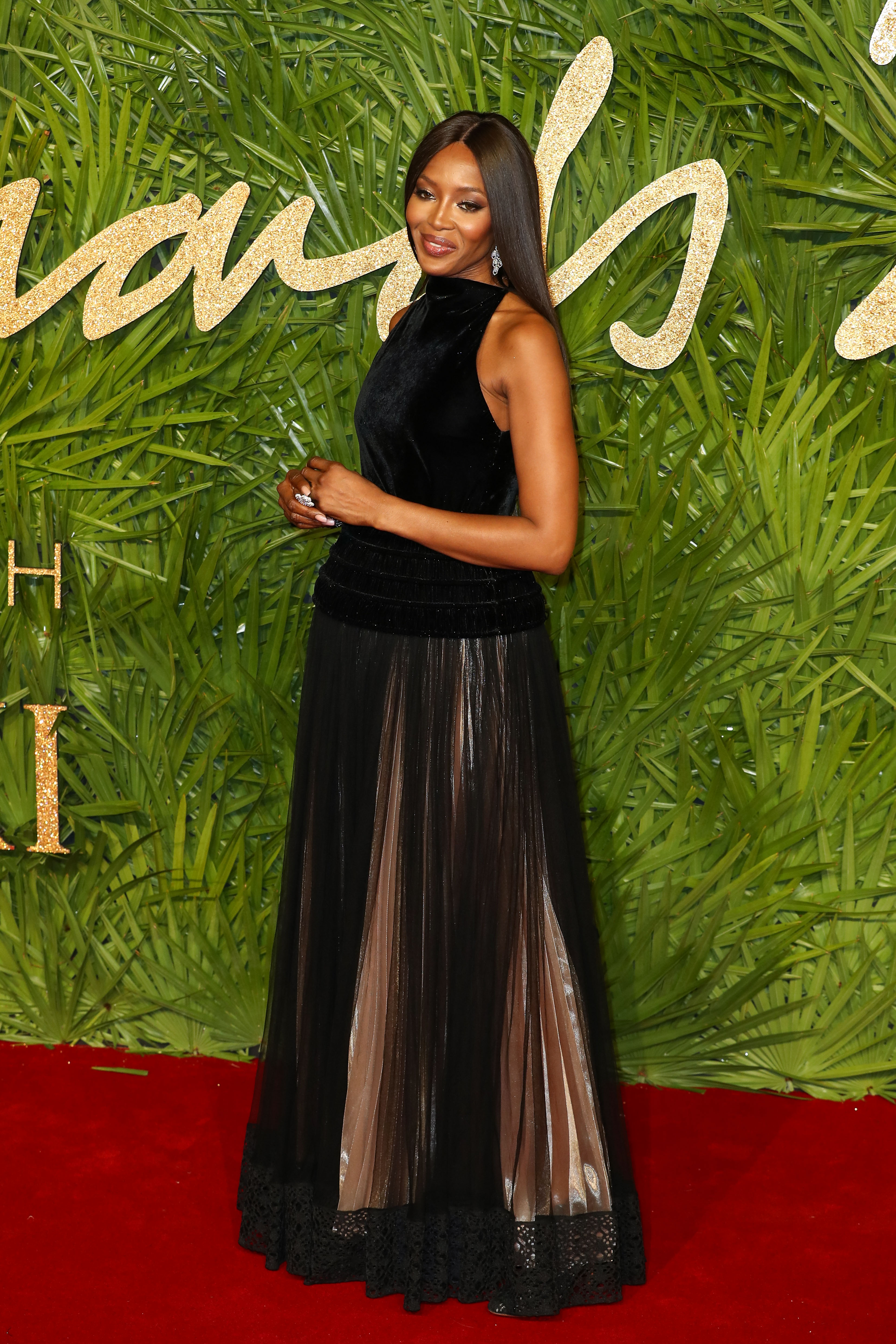 Naomi Campbell and her mother Valerie Morris attend The Fashion Awards 2017 in partnership with Swarovski at Royal Albert Hall on December 4, 2017 in London, England.  <P> Pictured: Naomi Campbell and Valerie Morris <B>Ref: SPL1633080  041217  </B><BR/> Picture by: Splash News<BR/> </P><P> <B>Splash News and Pictures</B><BR/> Los Angeles:310-821-2666<BR/> New York:212-619-2666<BR/> London:870-934-2666<BR/> <span id=