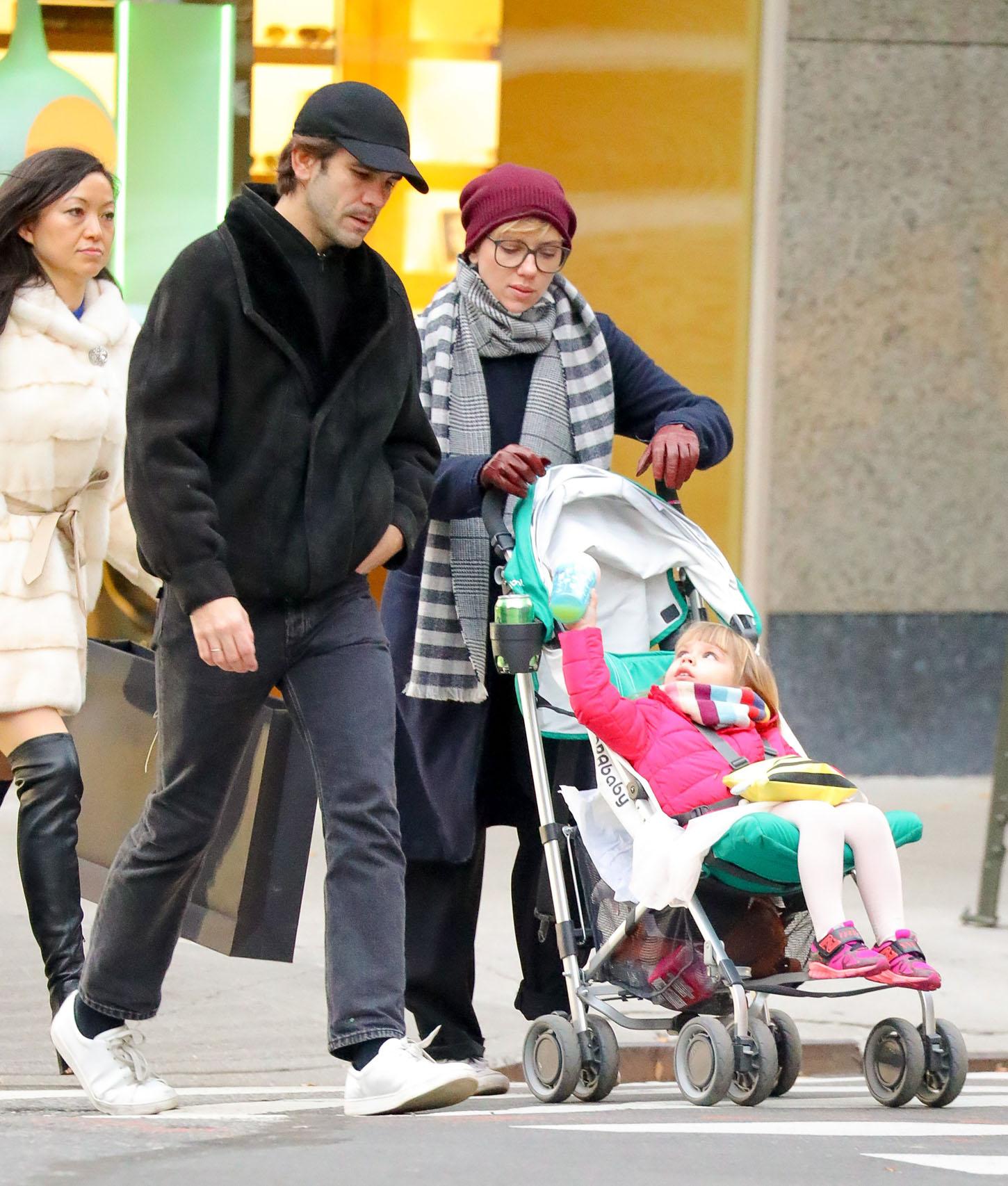 Scarlett Johansson, Romain Dauriaci njihova kćerkica Rose Dorothy