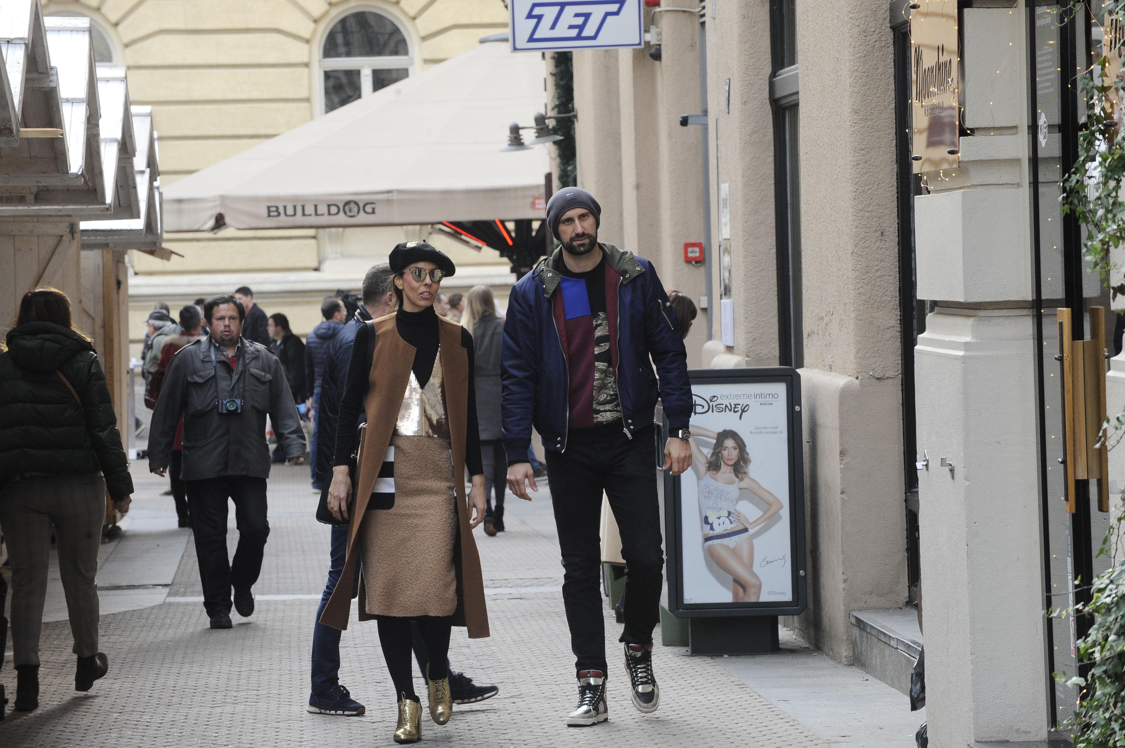 Spica / Zagreb 25.11.2017. / foto: Davor Matota / Igor Vori i Olja Vori