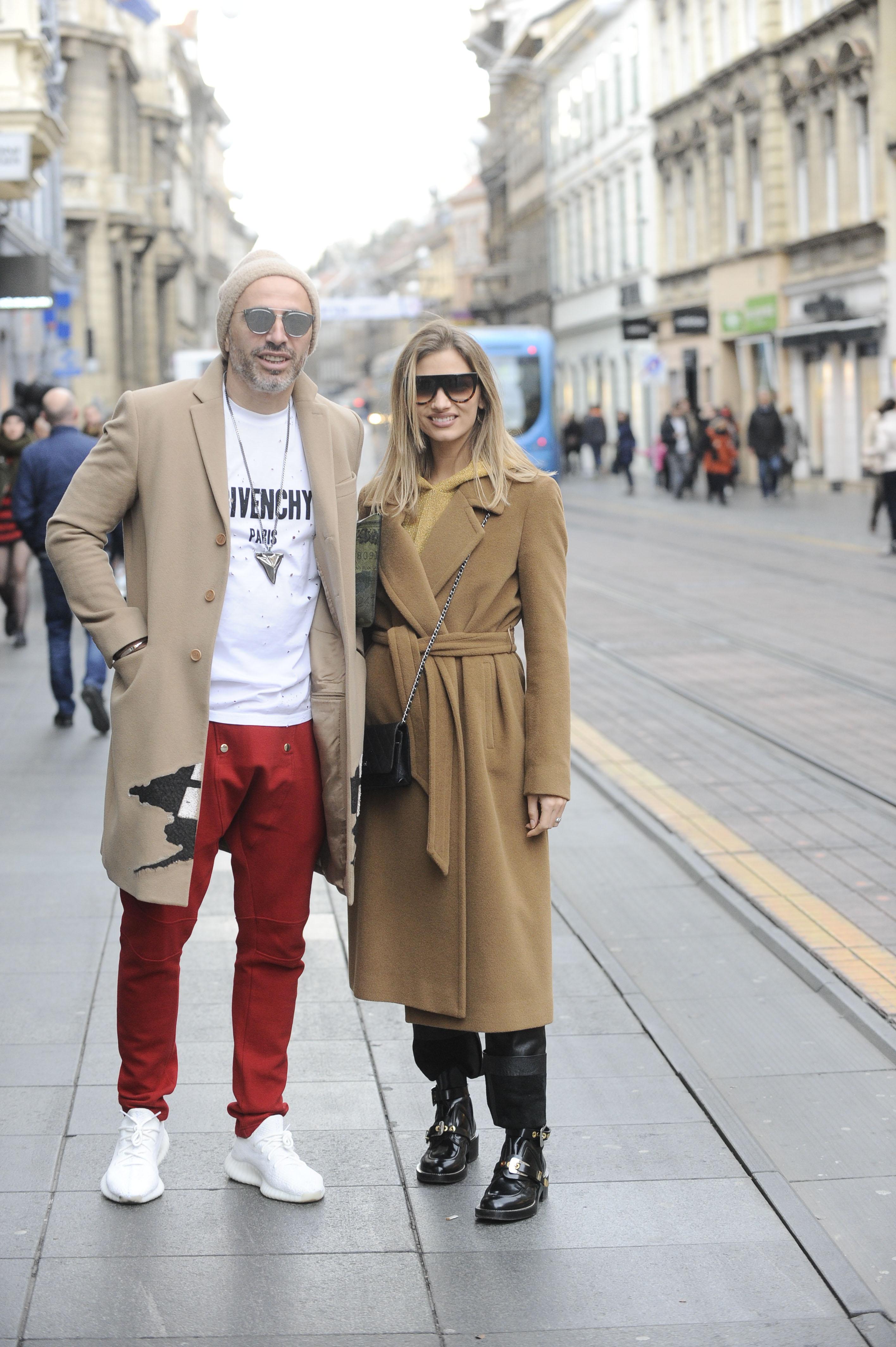 Spica / Zagreb 25.11.2017. / foto: Davor Matota / Marina Lackovic Matic i suprug Kreso Matic