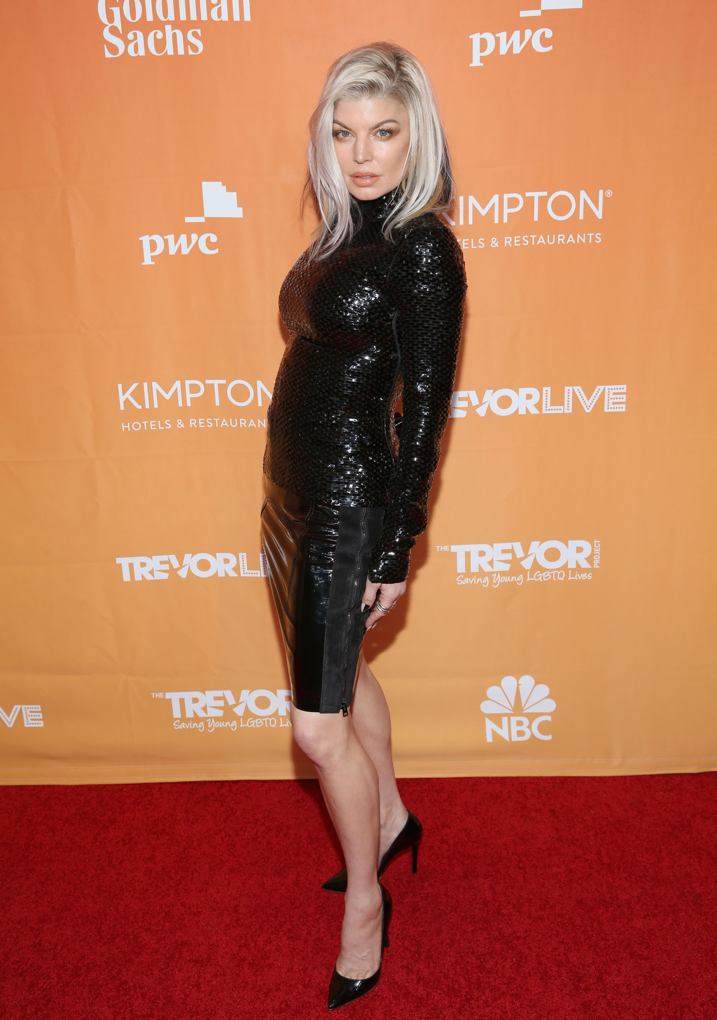 BEVERLY HILLS, CA - DECEMBER 03:  Fergie attends The Trevor Project's 2017 TrevorLIVE LA Gala at The Beverly Hilton Hotel on December 3, 2017 in Beverly Hills, California.  (Photo by Phillip Faraone/Getty Images for The Trevor Project)