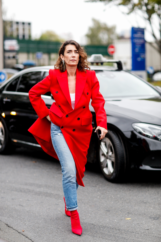 Street style, Mademoiselle Agnes arriving at Balenciaga Spring-Summer 2018 show held at Docks de Paris, Saint-Denis, France, on October 1st, 2017., Image: 352028046, License: Rights-managed, Restrictions: , Model Release: no, Credit line: Profimedia, Abaca