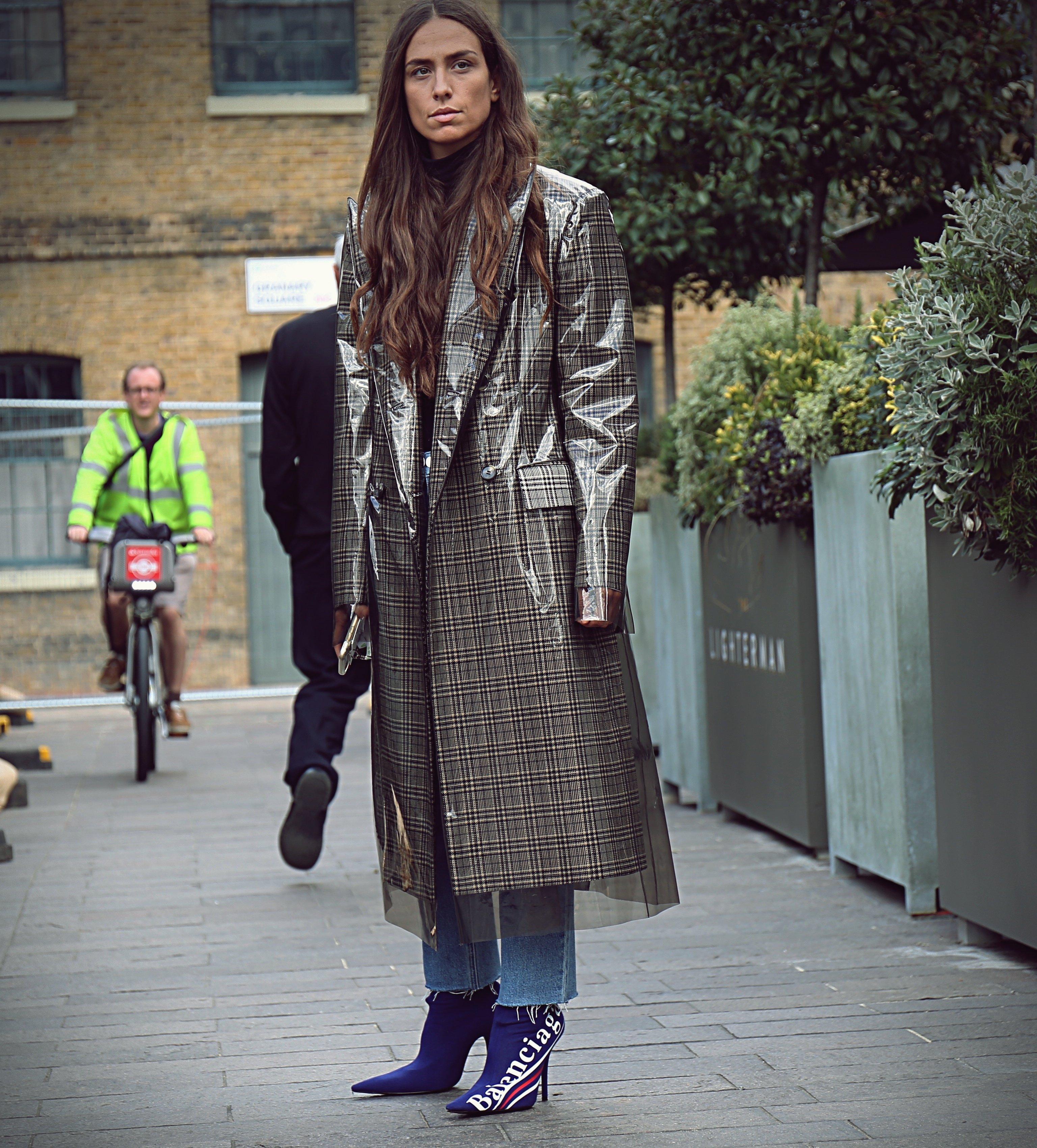 September 17, 2017 - London, United Kingdom - LONDON- 17 September 2017 Erika Boldrin on the street during the London Fashion Week, Image: 356045187, License: Rights-managed, Restrictions: , Model Release: no, Credit line: Profimedia, Zuma Press - Entertaiment