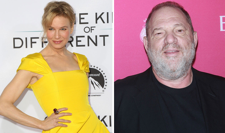 Renée Zellweger i Harvey Weinstein