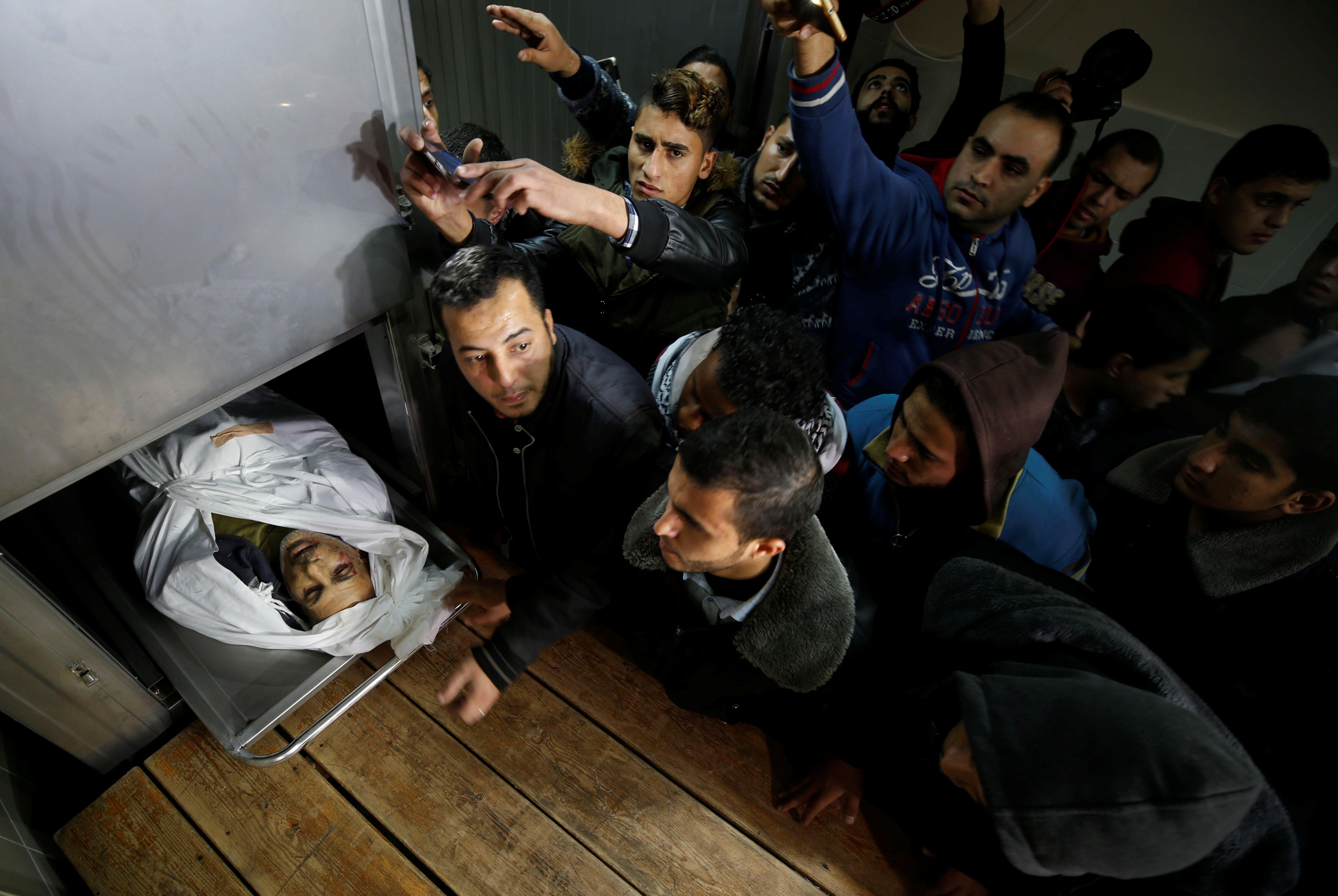 Jedan od ubijenih Palestinaca koji su poginuli 8. prosinca 2017.