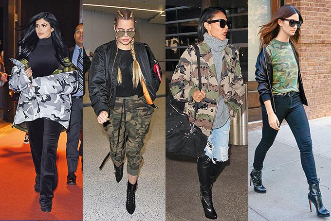 Zvijezde američkog reality showa Khloe Kardashian i Kylie Jenner; Američka glumica Jada Pinkett; Američka manekenka Lily Aldridge