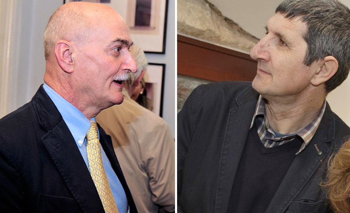 Slaven Letica (lijevo) i Ante Tomić (desno)