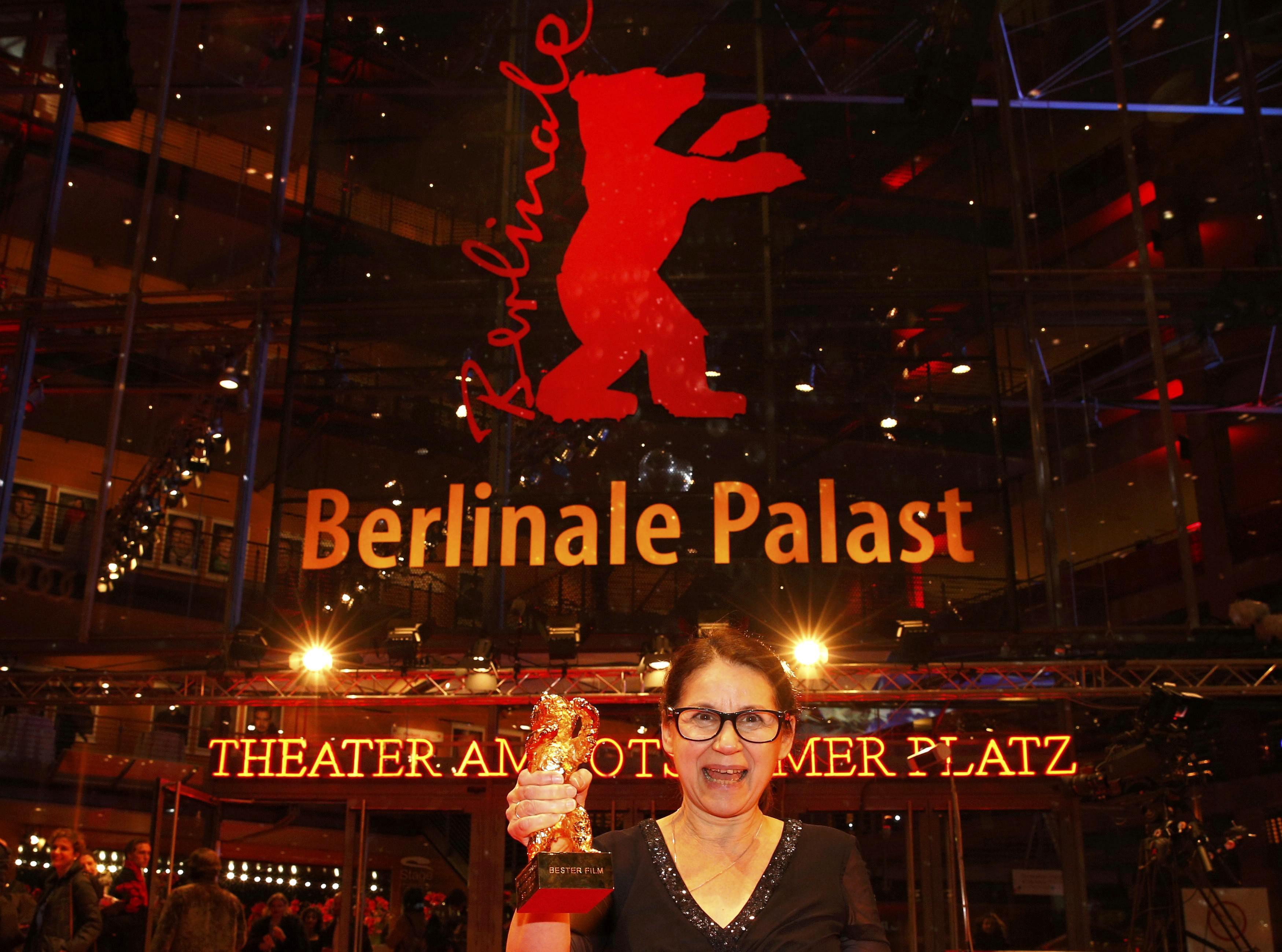 Mađarska redateljica Ildiko Enyedi sa 'Zlatnim medvjedom'