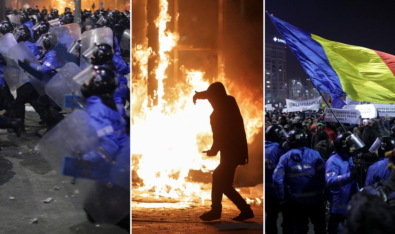 Bukurešt prosvjedi