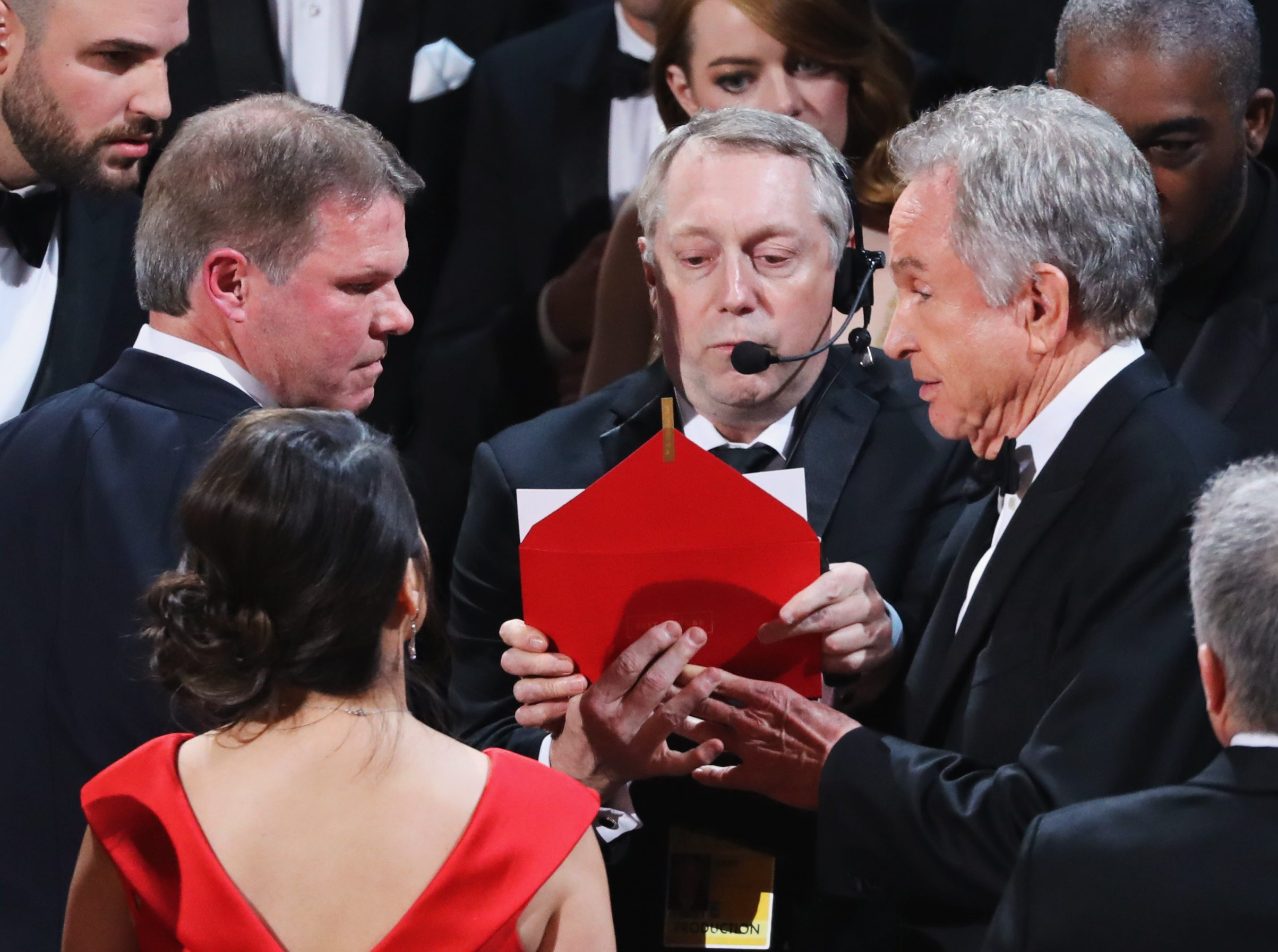 89th Academy Awards - Oscars Awards Show - Hollywood, California, U.S. - 26/02/17 - Warren Beatty looks on during presentation for Best Picture. REUTERS/Lucy Nicholson