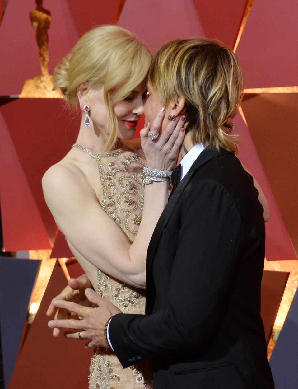Actors Nicole Kidman and Keith Urban arrive on the red carpet for the 89th annual Academy Awards at the Dolby Theatre in the Hollywood section of Los Angeles on February 26, 2017. Photo by /UPI, Image: 322544579, License: Rights-managed, Restrictions: , Model Release: no, Credit line: Profimedia, UPI