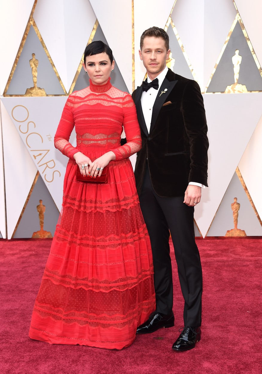 Feb 26, 2017 - Hollywood, California, U.S. - GINNIFER GOODWIN and JOSH DALLAS during red carpet arrivals for the 89th Academy Awards., Image: 322548912, License: Rights-managed, Restrictions: , Model Release: no, Credit line: Profimedia, Zuma Press - Entertaiment