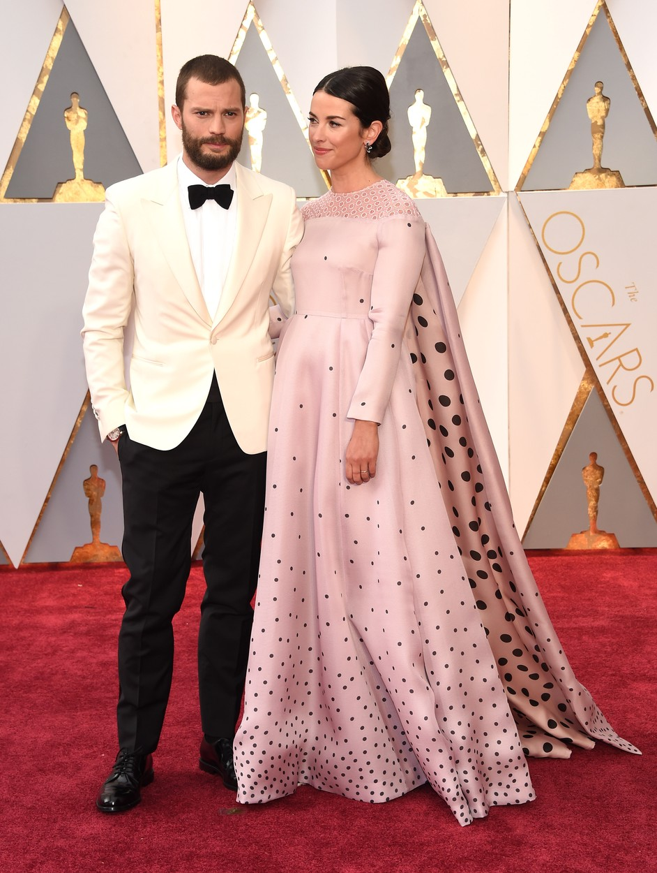 Feb 26, 2017 - Hollywood, California, U.S. - JAMIE DORNAN during red carpet arrivals for the 89th Academy Awards ceremony., Image: 322551465, License: Rights-managed, Restrictions: , Model Release: no, Credit line: Profimedia, Zuma Press - Entertaiment
