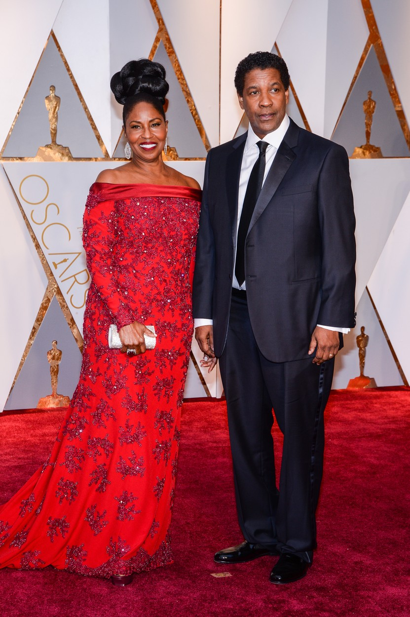 Pauletta Washington and Denzel Washington walking the red carpet during the 89th Academy Awards ceremony, presented by the Academy of Motion Picture Arts and Sciences, held at the Dolby Theatre in Hollywood, California on February 26, 2017., Image: 322554002, License: Rights-managed, Restrictions: , Model Release: no, Credit line: Profimedia, SIPA USA