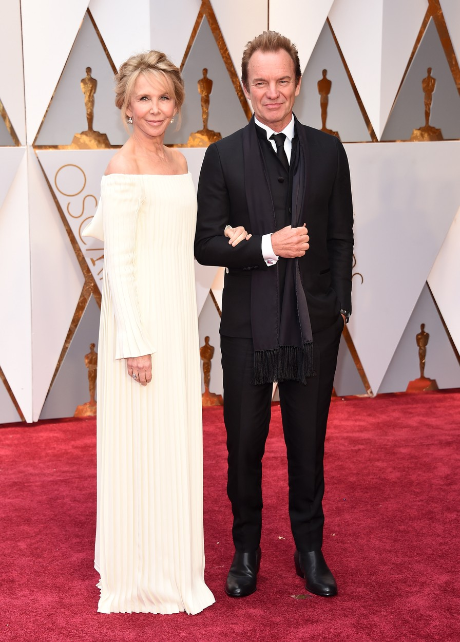 Sting, Trudie Styler at the 89th Academy Awards held at the Dolby Theatre, Image: 322567581, License: Rights-managed, Restrictions: World Rights except USA, France, Germany, Spain, Italy, Australia & NZ, Switzerland, Holland, Poland and South Africa, Model Release: no, Credit line: Profimedia, Press Association