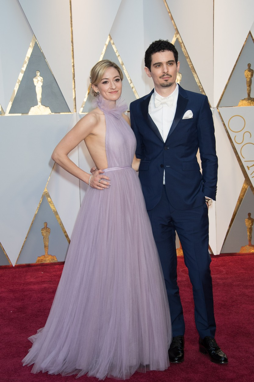 Feb 26, 2017 - Hollywood, California, U.S - Oscars� nominee DAMIEN CHAZELLE and guest arrive at The 89th Oscars� at the Dolby� Theatre in Hollywood, CA on Sunday, February 26, 2017., Image: 322579066, License: Rights-managed, Restrictions: , Model Release: no, Credit line: Profimedia, Zuma Press - Entertaiment