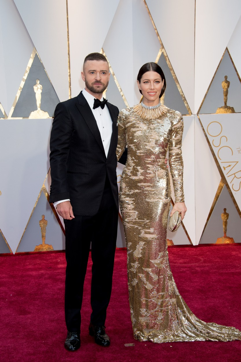 Feb 26, 2017 - Hollywood, California, U.S - Oscar�-nominee JUSTIN TIMBERLAKE and JESSICA BIEL arrive at The 89th Oscars� at the Dolby� Theatre in Hollywood, CA on Sunday, February 26, 2017., Image: 322579166, License: Rights-managed, Restrictions: , Model Release: no, Credit line: Profimedia, Zuma Press - Entertaiment