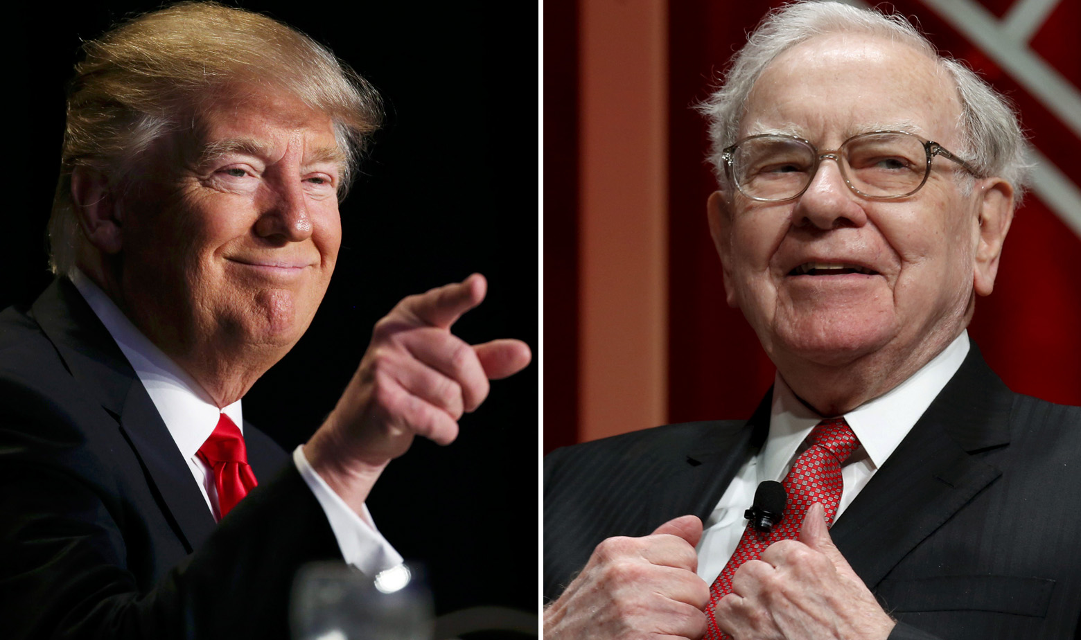 Donald Trump i Warren Buffett