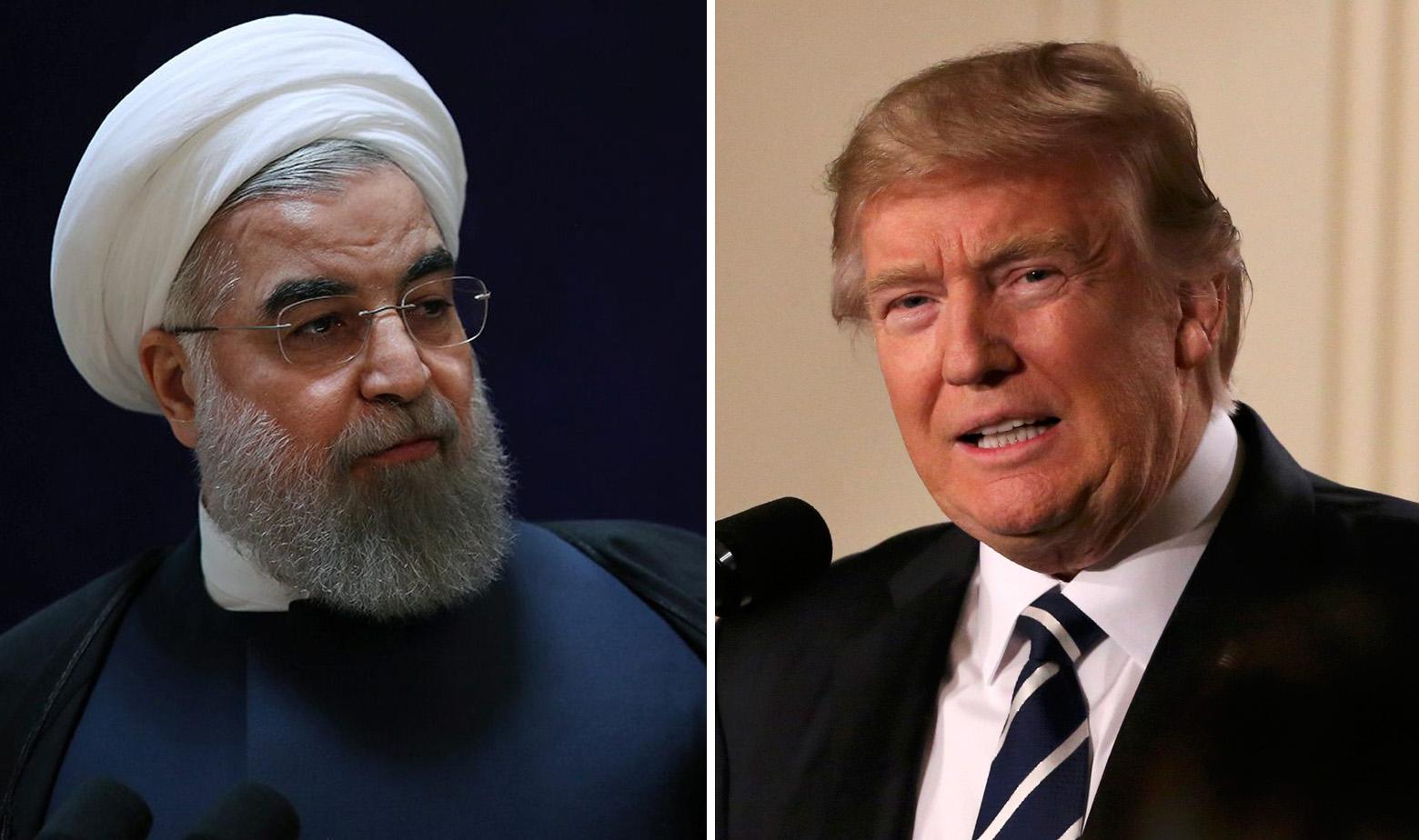 Hassan Rouhani i Donald Trump