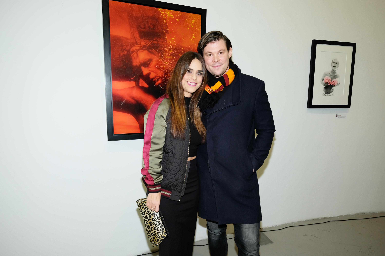 Ana Maras Harmander sa suprugom