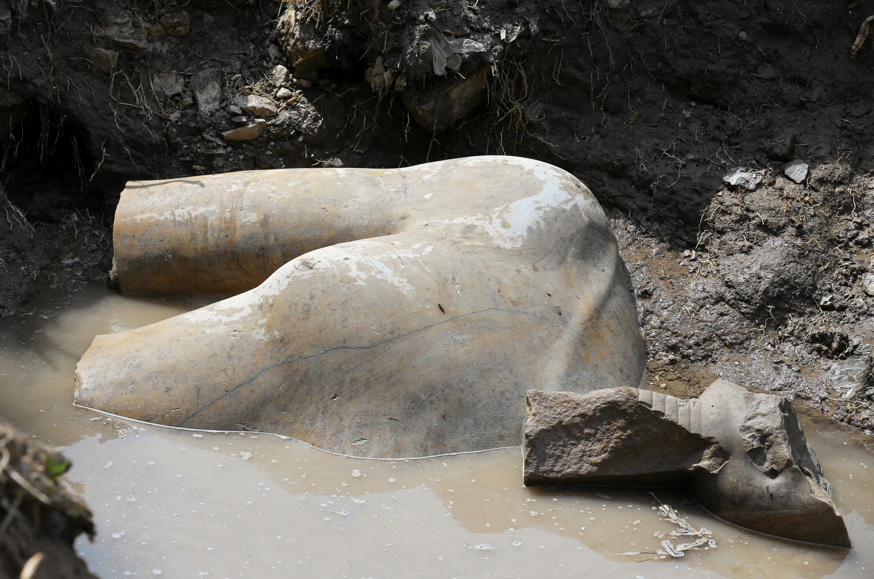 Kip Ramzesa II pronađen u Kairu
