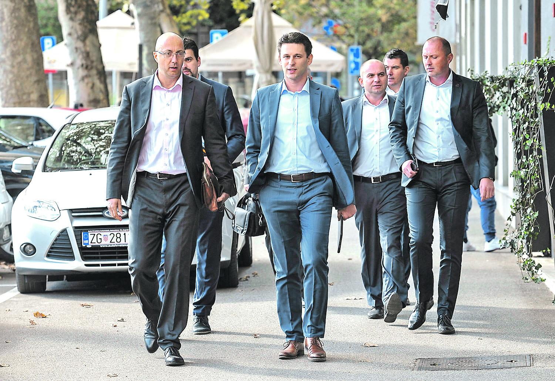 Ivan Kovačić, Ante Čikotić, Božo Petrov, Miroslav Šimić, Nikola Grmoja