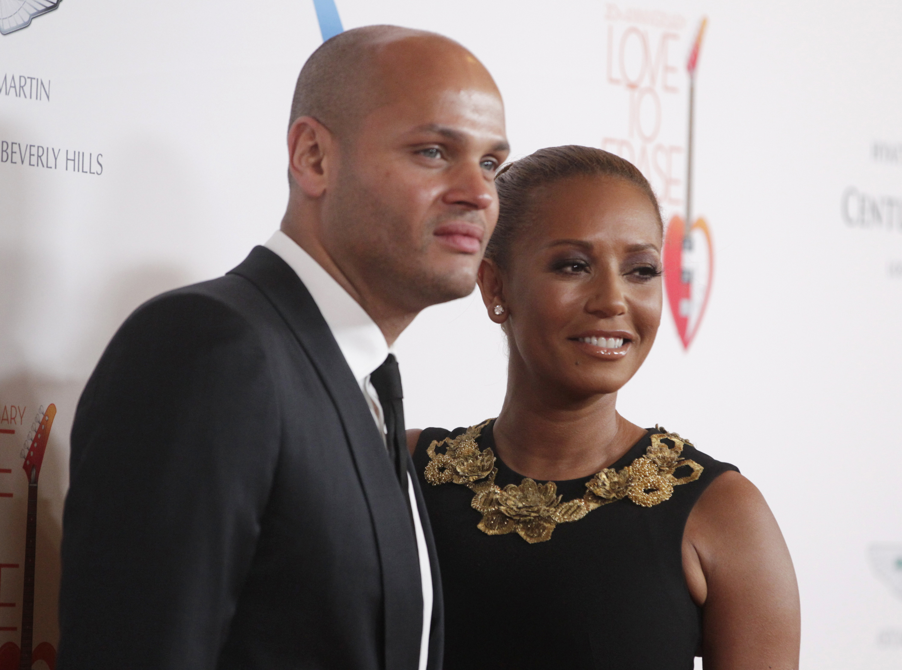 Stephen Belafonte i Melanie Brown