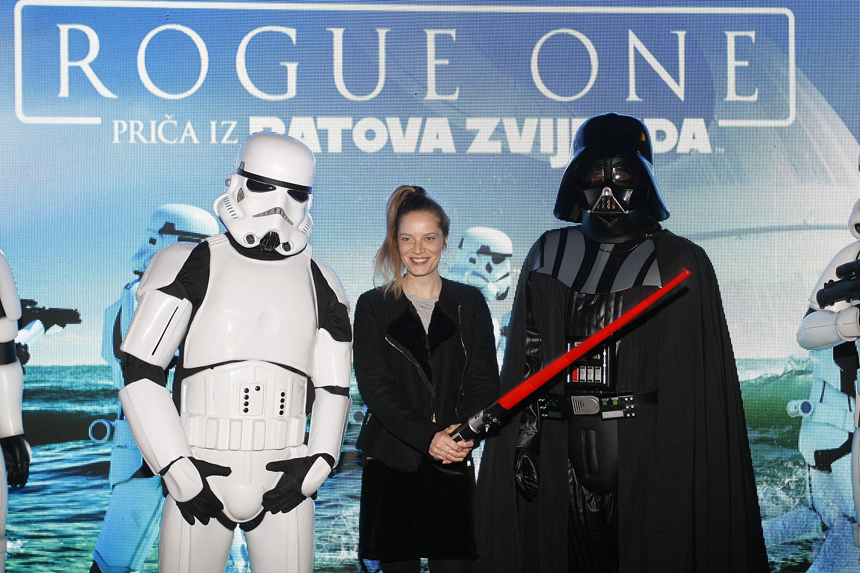 Film 'Rogue One: Priča o ratovima zvijezda' jedan je od megahitova zaslužnih za rekordan promet. Na fotografiji: Svečana premijera u Cinestaru Arena Imax