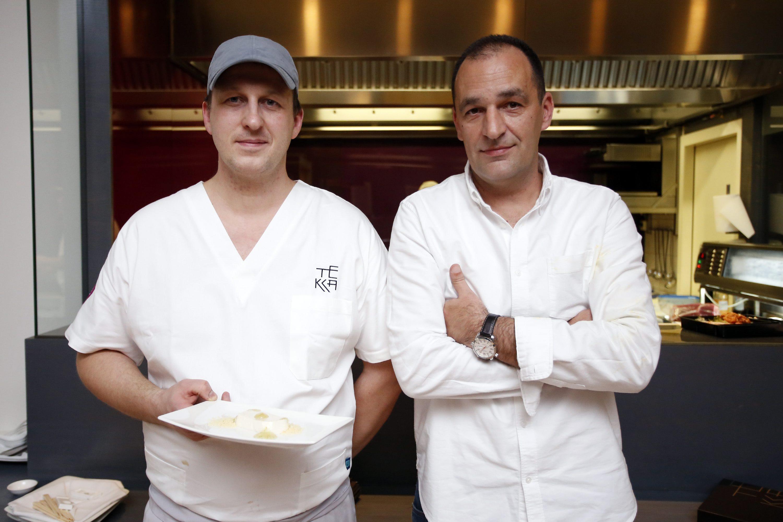 Na fotografiji: glavni kuhar Tomislav Pirs i vlasnik restorana Mario Minder