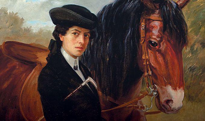 Autoportret s konjem