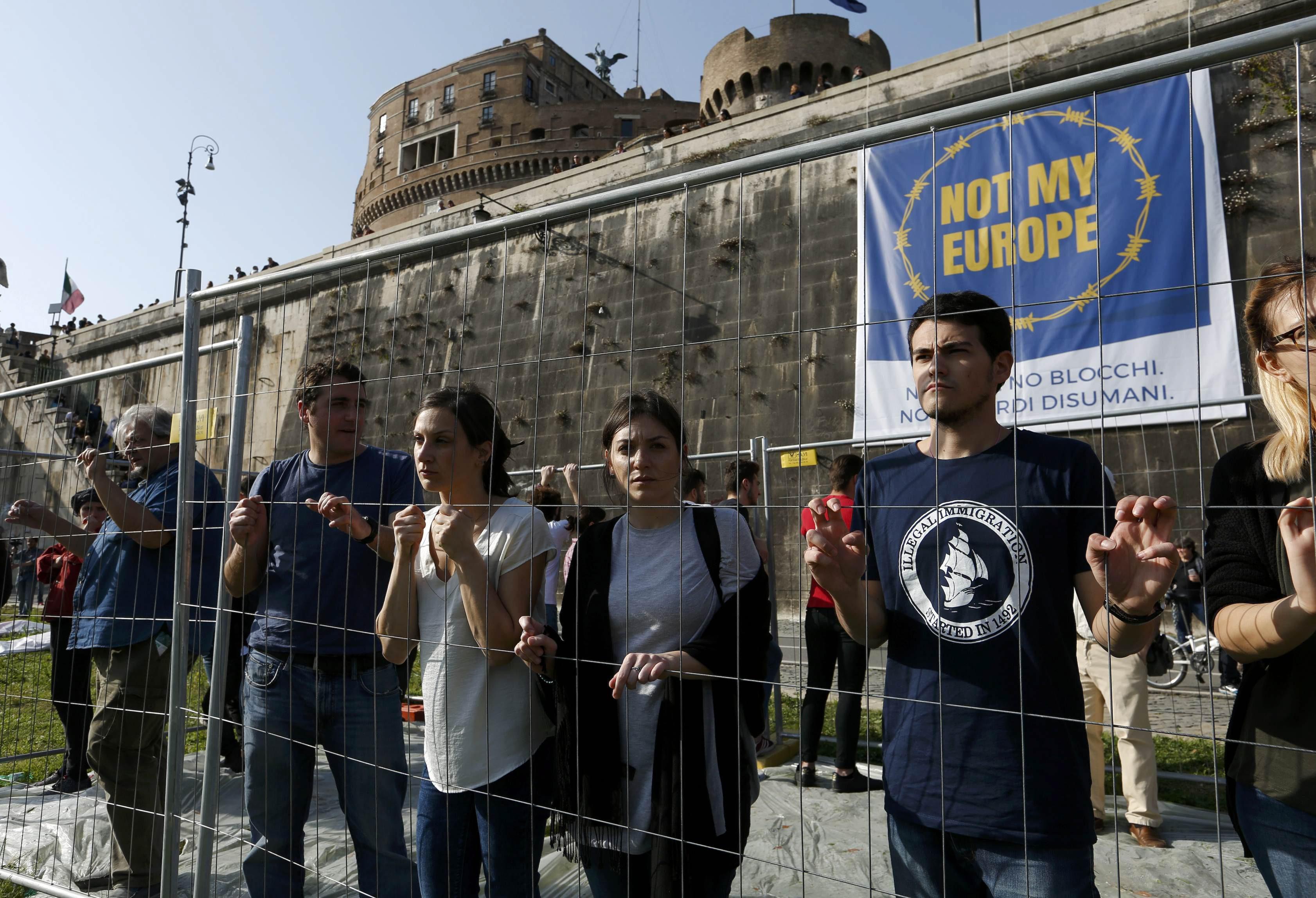 Performans protiv Europske unije u Rimu