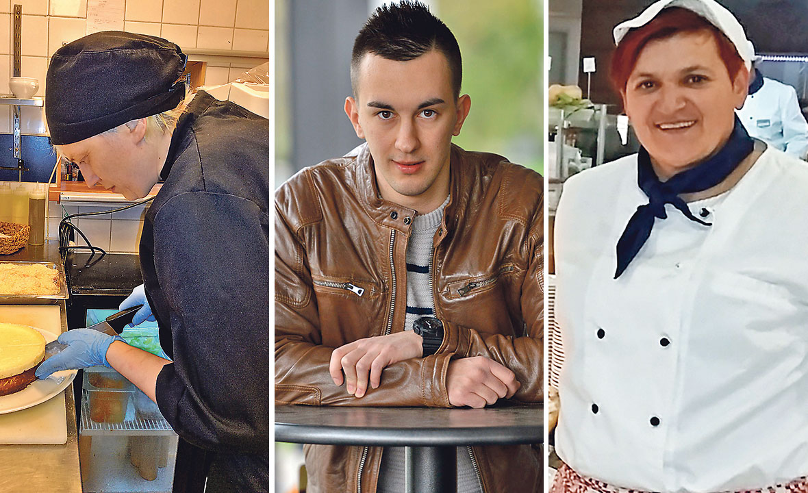 Aleksandra Rigo, Abaz Begović i Dada Marčić