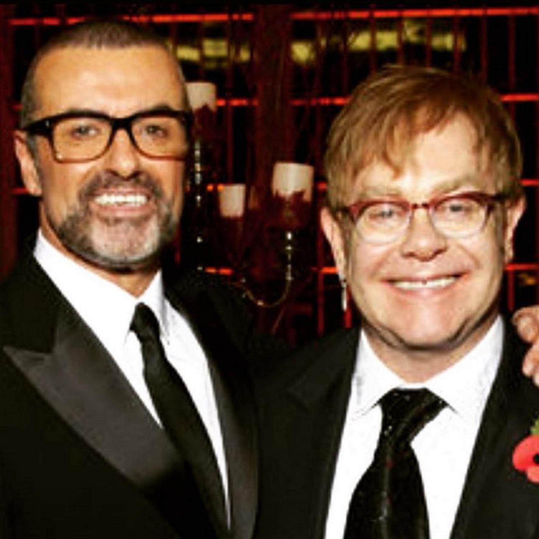 George Michael i Elton John