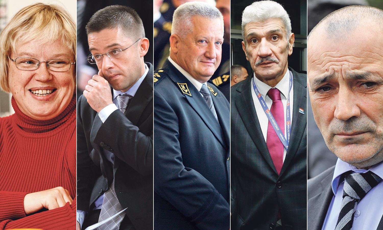 Snježana Koren, Tvrtko Jakovina, Pavao Miljavac, Ivan Domazet Lošo i Tomo Medved