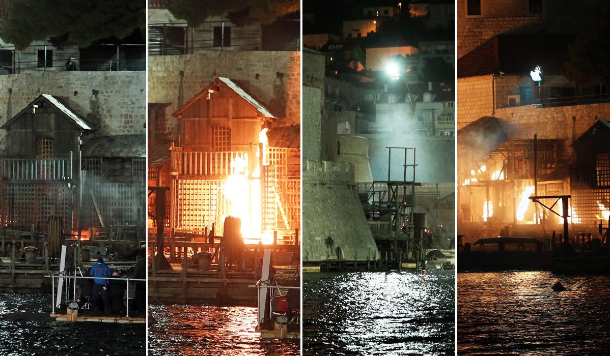 Dubrovnik zadnji dan snimanje