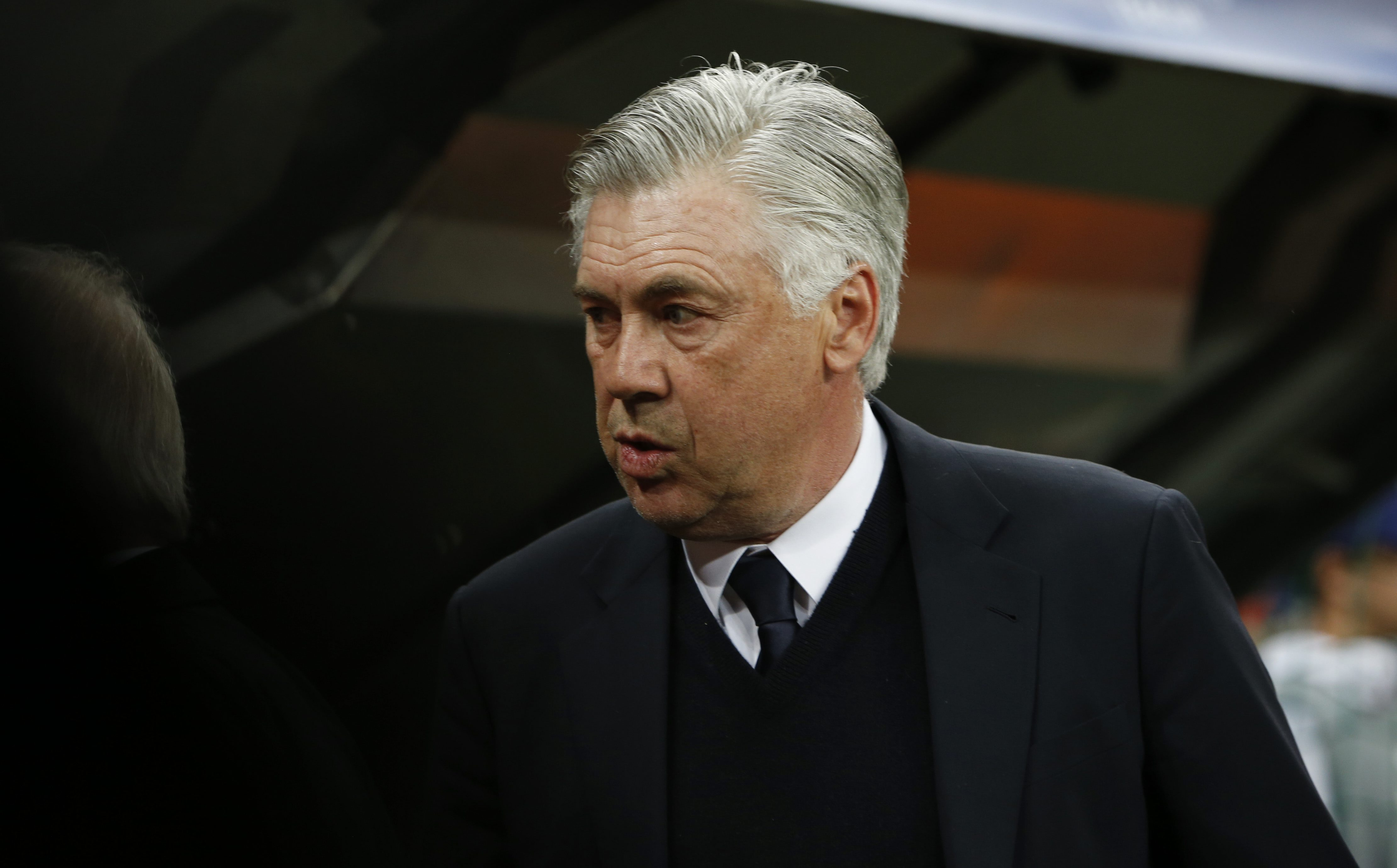 Football Soccer - Bayern Munich v Real Madrid - UEFA Champions League Quarter Final First Leg - Allianz Arena, Munich, Germany - 12/4/17 Bayern Munich coach Carlo Ancelotti  before the match Reuters / Michaela Rehle Livepic