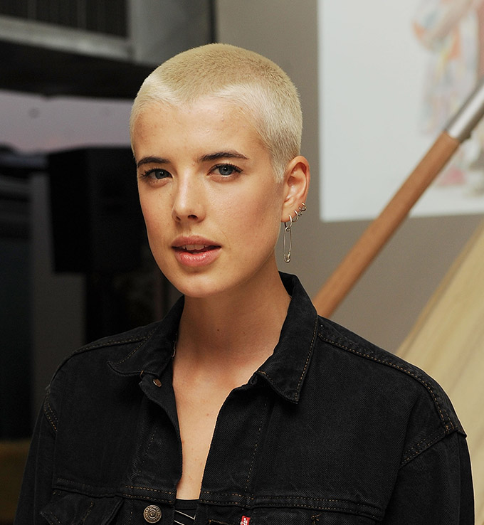 NEW YORK - MAY 25:  Model Agyness Deyn attends book launch party for