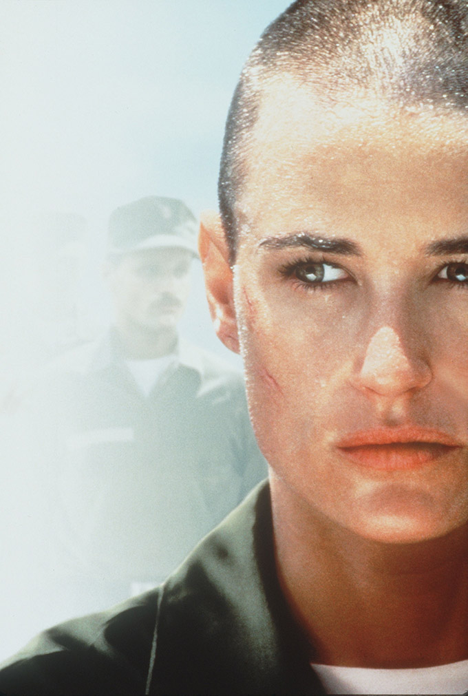 G. I. JANE (1997) - DEMI MOORE., Image: 137109652, License: Rights-managed, Restrictions: Editorial Use only, Model Release: no, Credit line: Profimedia, Album