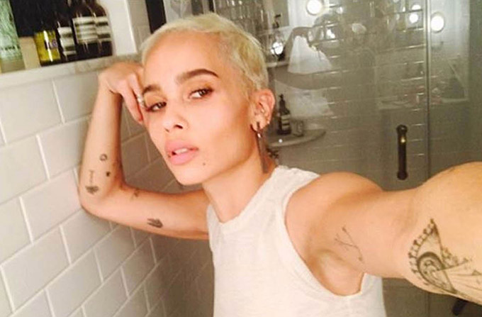 8 April 2017  Zoe Kravitz seen in this celebrity social media picture!, Image: 328655577, License: Rights-managed, Restrictions: **UK CLIENTS MUST CALL PRIOR TO TV OR ONLINE USAGE PLEASE TELEPHONE  +44 208 344 2007***Xposure Photos does not claim any Copyright or License in the attached material**, Model Release: no, Credit line: Profimedia, Xposurephotos